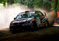 David Wright & Michael Wilkinson Mitsubishi Lancer EVO 9