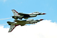 USAF Thunderbirds F-18C Flying Falcon