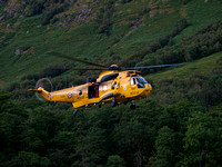 RAF Rescue Sea King HAR3/3A XZ588 202 SQN