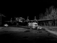 Friday the 13th Night shoot Yorkshire Air Museum 13th March 2015