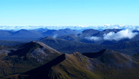 The Mamories viewed from Ben Nevis