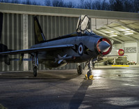 Lightning Preservation Group Night Photo Shoot Bruntingthorpe 20th Feb 2016