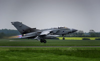 Panavia Tornado GR4 ZG779 136 Taking off RAF Marham