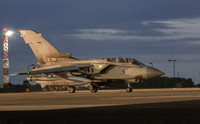 Pnavia Tornado GR4 ZG779 136 Taxis out at dusk