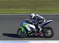 Dean Harrison Silcone Engineering Racing Kawasaki