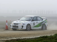 Chris Marshall & Simon Hunter Mitsubishi Lancer EVO5