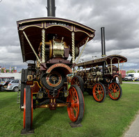 Burrel Showmans Road Locomotive Princess of Wales & Garrett Showmans Tractor Invincible