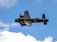 BBMF Lancaster B1 PA474 'City of Lincoln' Flypast Classic Motorcycle Festival
