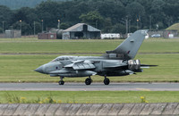 Panavia Tornado GR4A ZA612 Slow with Reverse Thrust applied