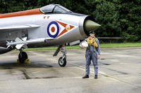 English Electric Lightning F3 XR718 with pilot