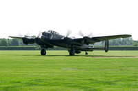 AVRO Lancaster NX611 Just Jane. taxis