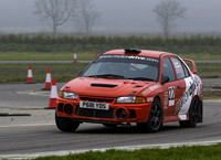 Darren Meadows & Jim Brindle Mitsubishi Lancer EVO IV