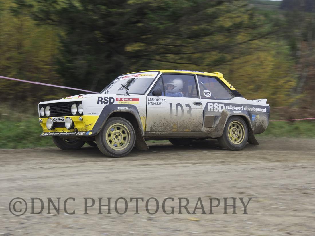Julian Reynolds & Patrick Walsh Fiat 131 Abarth