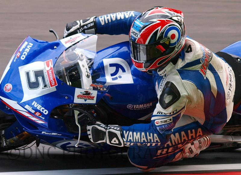 Karl Harris Rob Mac Racing Yamaha YZF-R1