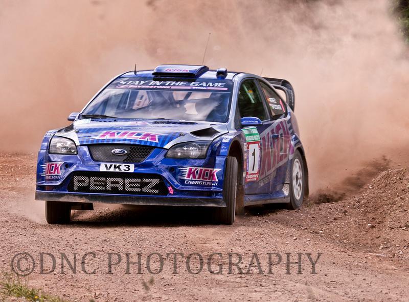 Steve Perez & Paul Spooner Ford Focus WRC