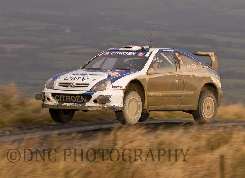 Manfred Stohl & Ilka Minor OMV Kronos Citroen World Rally Team Citroen Xsara WRC