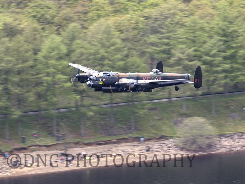 BBMF AVRO Lancaster (Mk I) PA474 'City of LIncoln' Derwent Dam