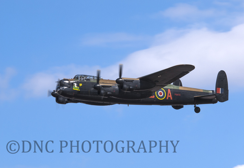"BBMF AVRO Lancaster PA474 "" City of Lincoln"""