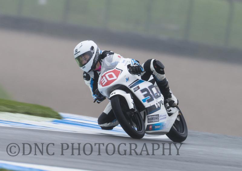 Max Cook Honda NSF - Wilson Racing