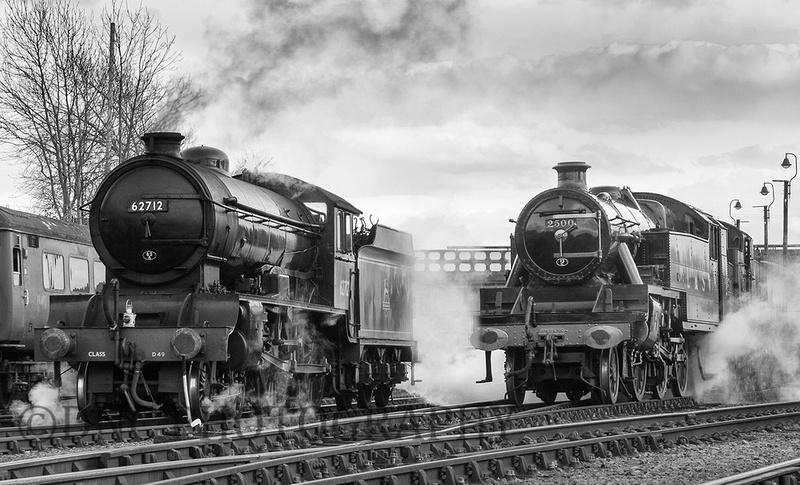 LNER D49 62712 'Morayshire' & LMS 2-6-4T 2500