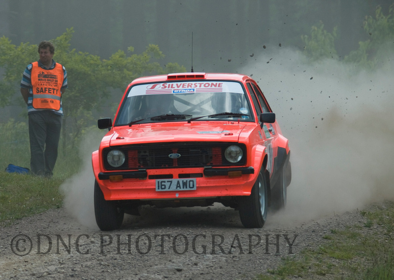 William Onions Tim Hobbs Ford Escort MK2