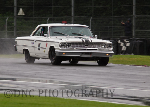 Richard Owen Ford Galaxie HSCC ByBox Historic Touring Car