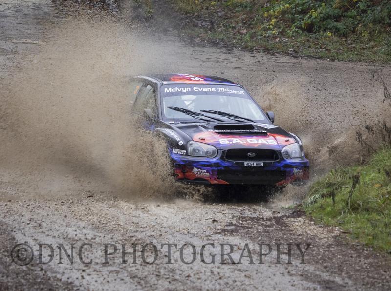 Carl Simmons & Guy Simmons Subaru Impreza S11 WRC