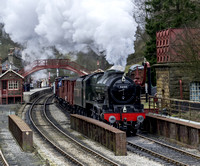 LMS 46100 Royal Scot Passing Goathland Station