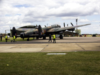 Lancaster PA474 being prepared for flight