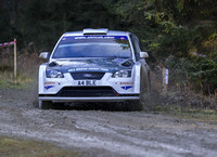 Peter M Stephenson & Patrick Walsh Ford Focus WRC