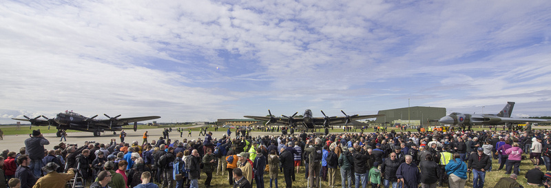 AVRO Finest Meet RAF Waddington