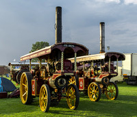 "Foster Showmans Road Locomotives ""Obsession"" & ""Endeavour"""