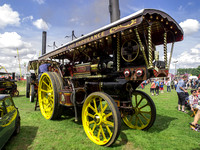 The Iron Maiden Fowler Showmans Road Locomotive