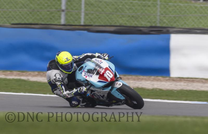 Sean Neary Zoek Racing Team Ducati