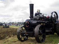 Fowler Ploughing engine and plough