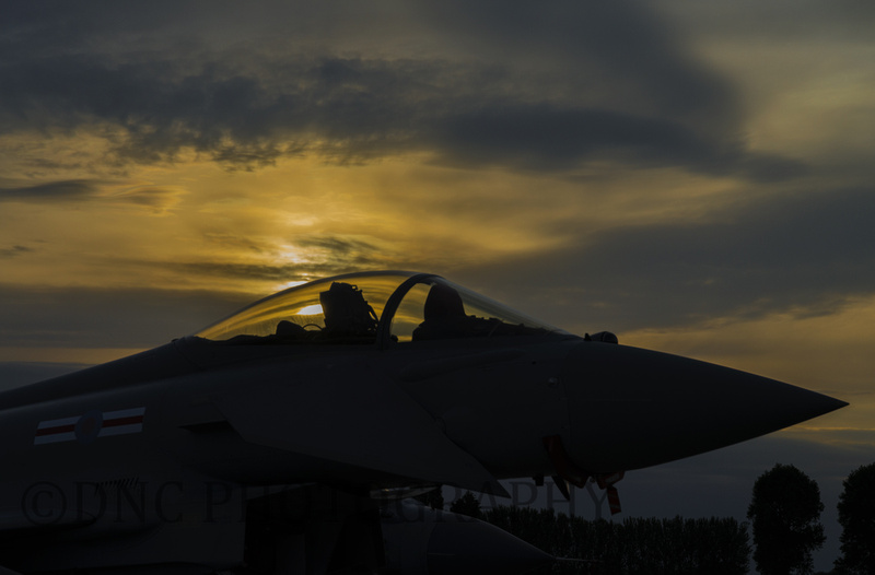 Typhoon Sunset