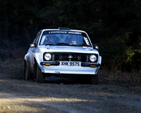 Ross Brusby & Kevin Wilson Ford Escort Mk2