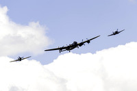 BBMF Lancaster, Spitfire and Hurricane