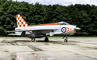 Bruntingthorpe Lightnings XR713 repaint to XR718 56 Sqn Firebirds